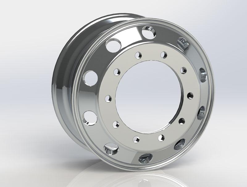 Casting Aluminum Wheels Factory