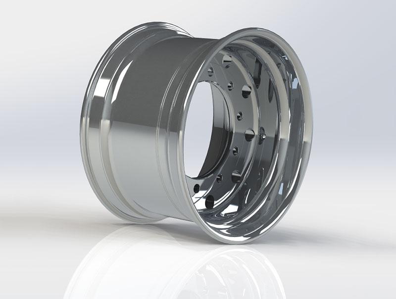 Flow Formed Aluminum Alloy Wheels