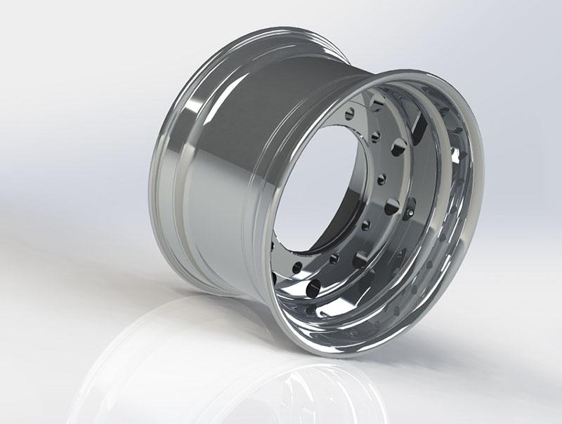 Diegowheels 22.5*13.0 Casting Low Pressure Aluminum Alloy Wheels