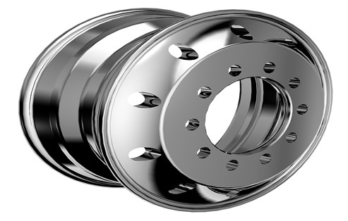 Flow Formed Aluminum Alloy Wheels Manufacturing Process A