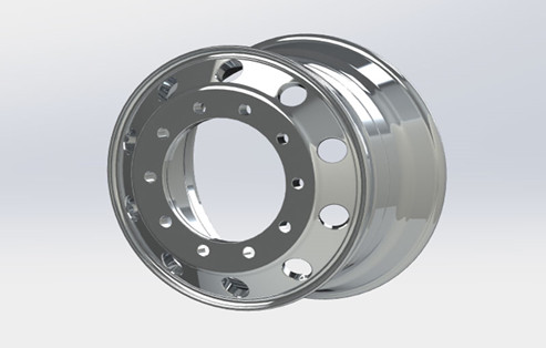 Modification Error Of Flow Formed Aluminum Alloy Wheels A